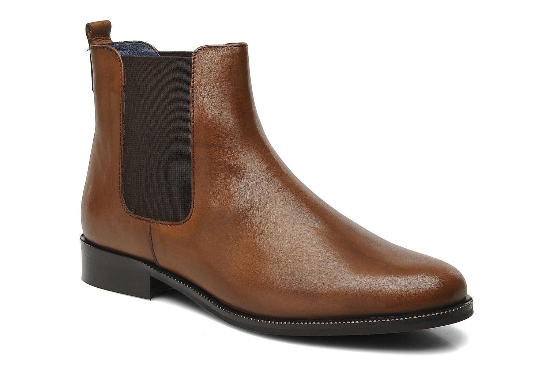 Boots en enkellaarsjes PintoDiBlu Broche Bruin detail