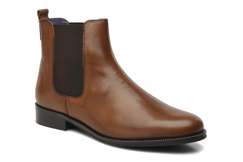 Bottines et boots PintoDiBlu Broche Marron vue détail/paire
