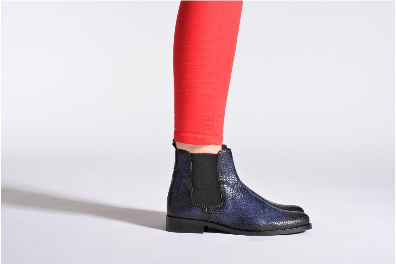 Bottines et boots PintoDiBlu Broche Bordeaux vue bas / vue portée sac