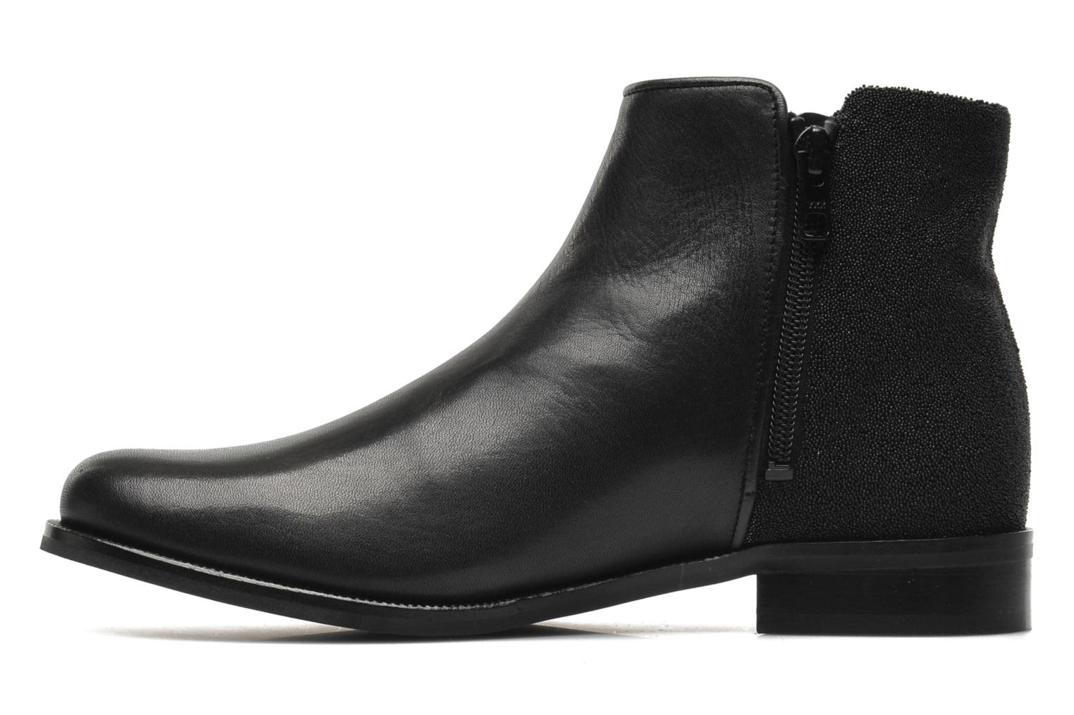 Ankle boots PintoDiBlu Marmara Black front view