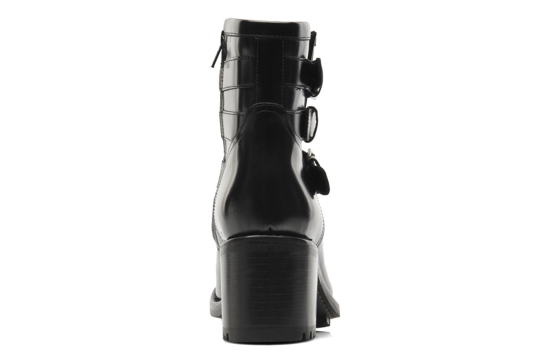Biker 7 Boots 3 straps Cordovan Noir