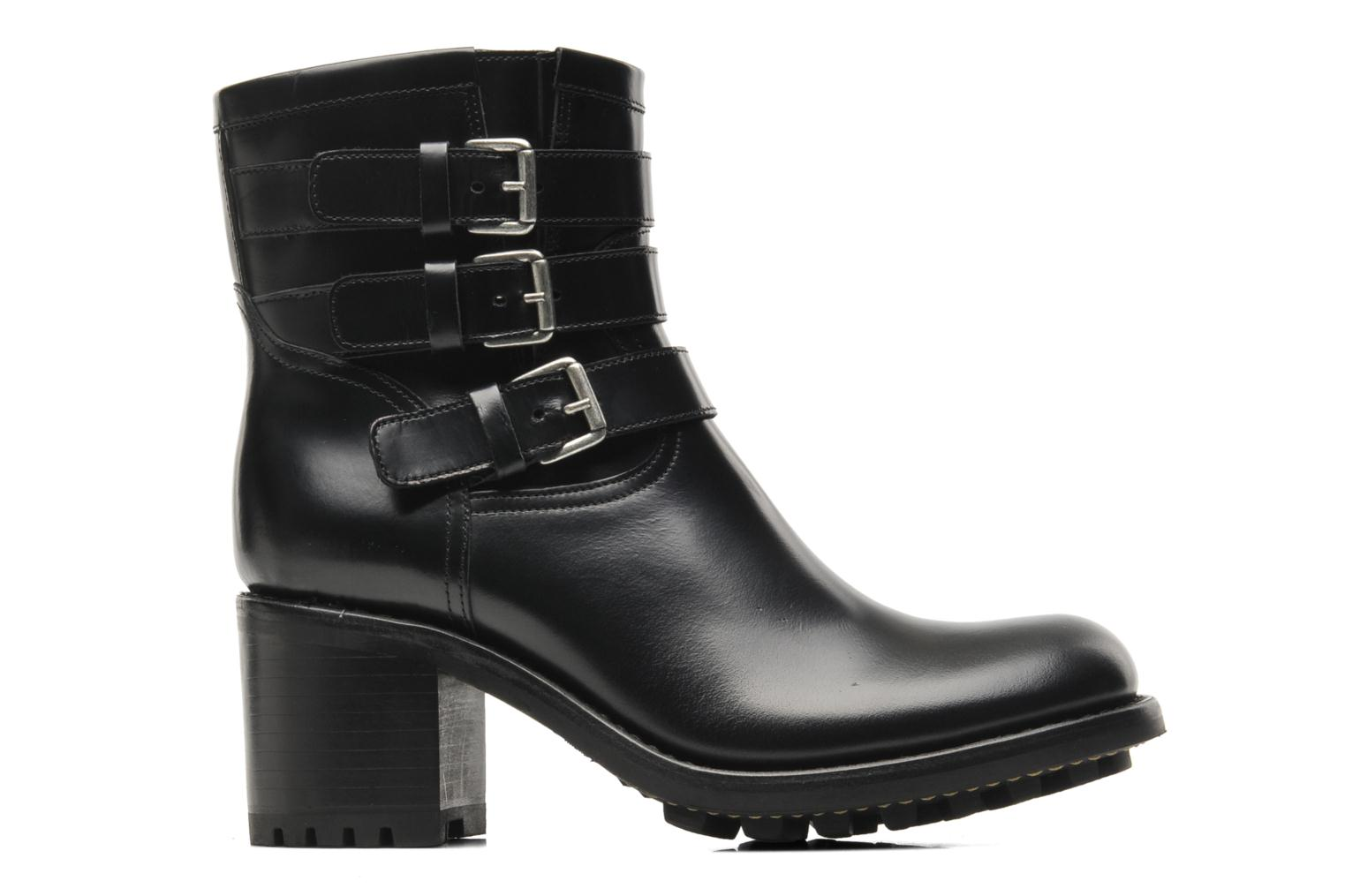Ankle boots Free Lance Biker 7 Boots 3 straps Black back view