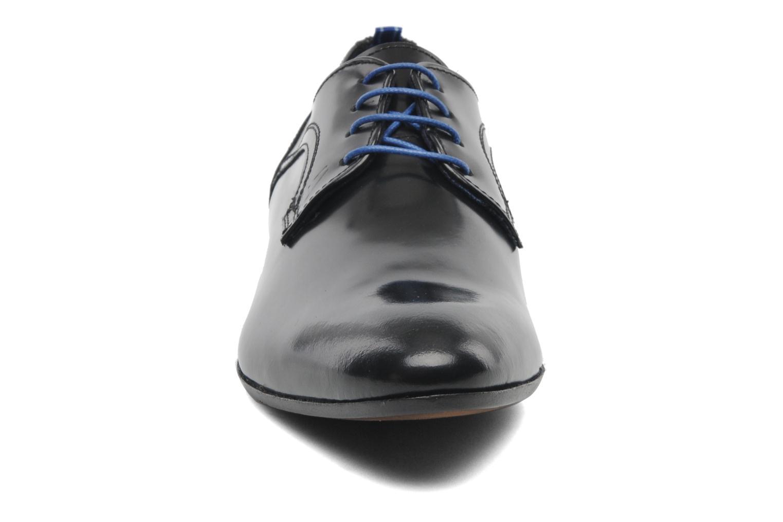 Zapatos con cordones Azzaro Pioro Negro vista del modelo