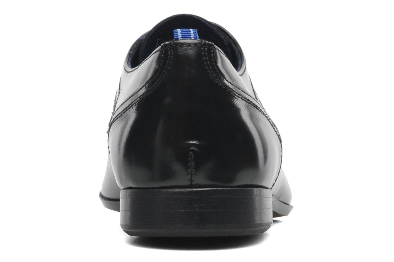 Zapatos con cordones Azzaro Pioro Negro vista lateral derecha
