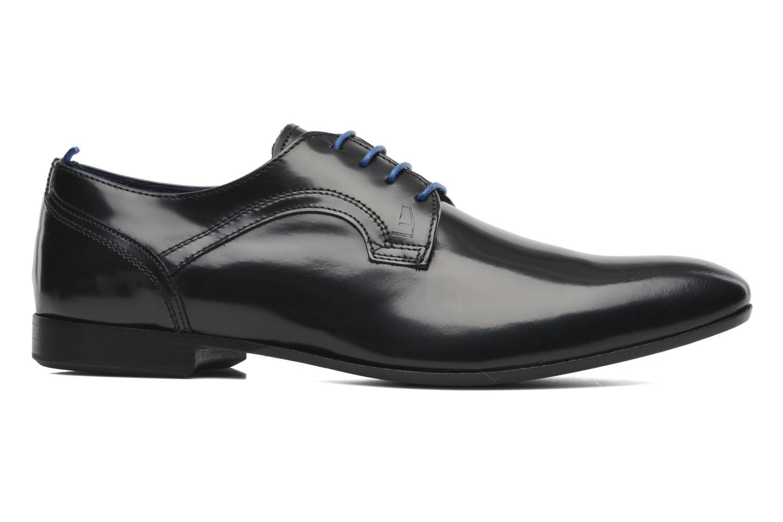 Zapatos con cordones Azzaro Pioro Negro vistra trasera