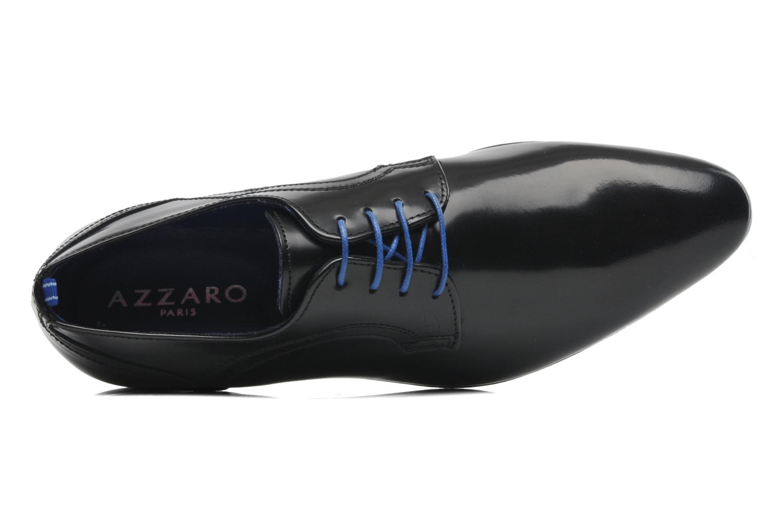 Zapatos con cordones Azzaro Pioro Negro vista lateral izquierda
