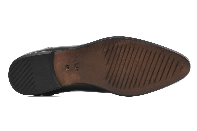 Zapatos con cordones Azzaro Pioro Negro vista de arriba
