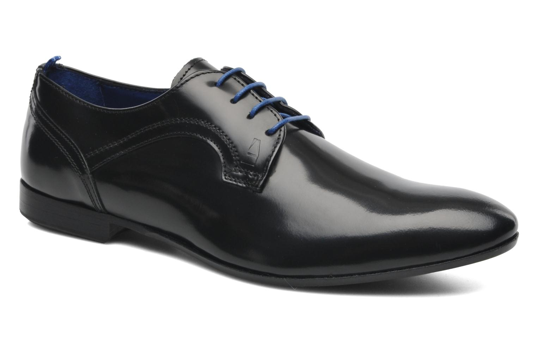 Zapatos con cordones Azzaro Pioro Negro vista de detalle / par