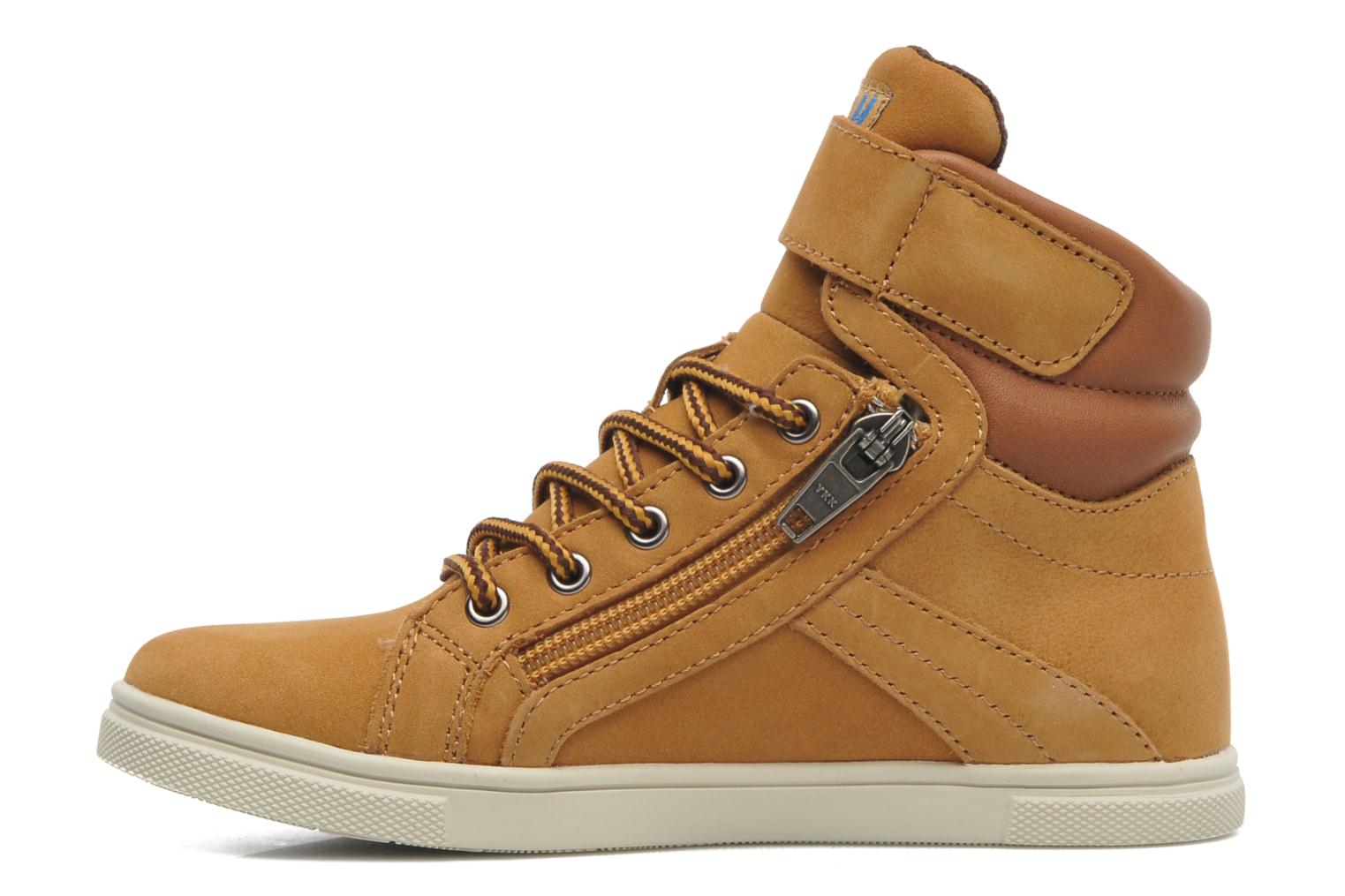 Trainers P-L-D-M By Palladium Veleda WP Brown front view