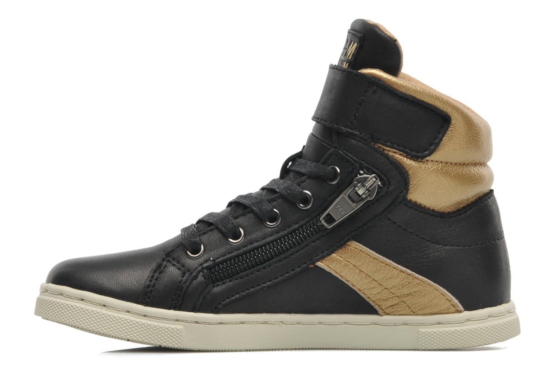 Sneakers P-L-D-M By Palladium Veleda Metallic Zwart voorkant
