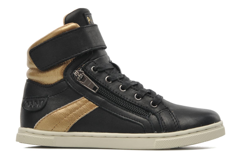 Sneakers P-L-D-M By Palladium Veleda Metallic Zwart achterkant