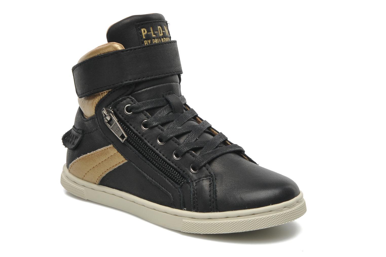 Sneakers P-L-D-M By Palladium Veleda Metallic Zwart detail
