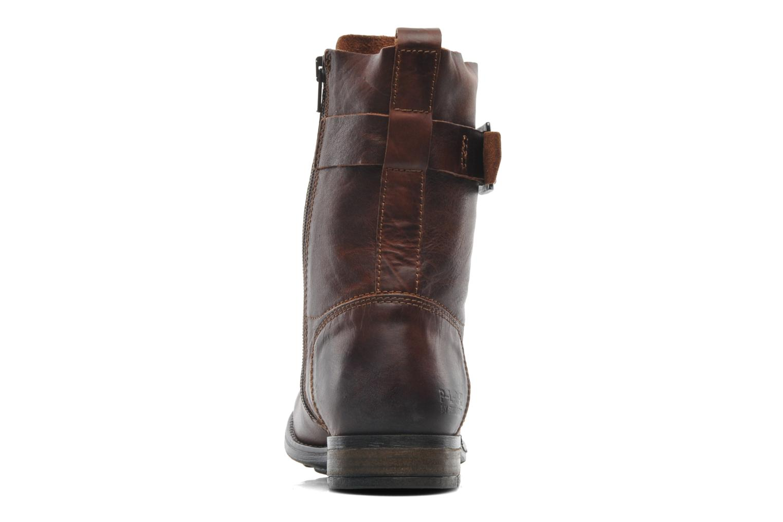 Bottines et boots P-L-D-M By Palladium Udita Marron vue droite