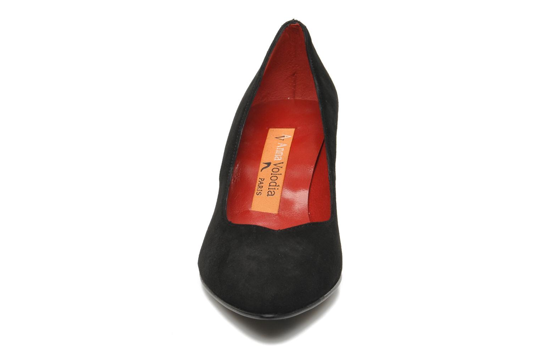 Escarpins Anna Volodia Ameriane Noir vue portées chaussures