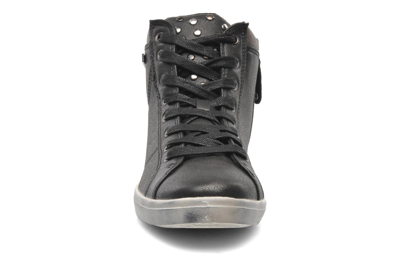 Baskets Kaporal Lanista Noir vue portées chaussures