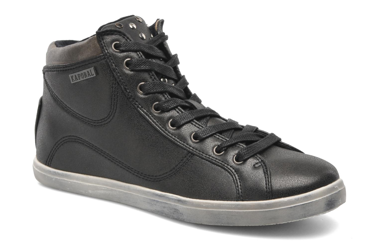 Trainers Kaporal Lanista Black detailed view/ Pair view