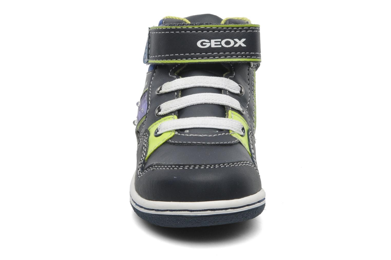 Baskets Geox B FLICK BOY J Bleu vue portées chaussures