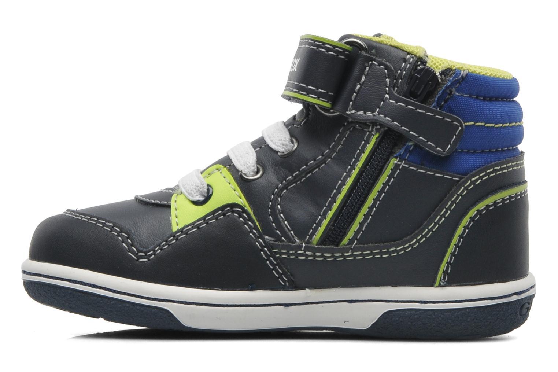 Sneaker Geox B FLICK BOY J blau ansicht von vorne