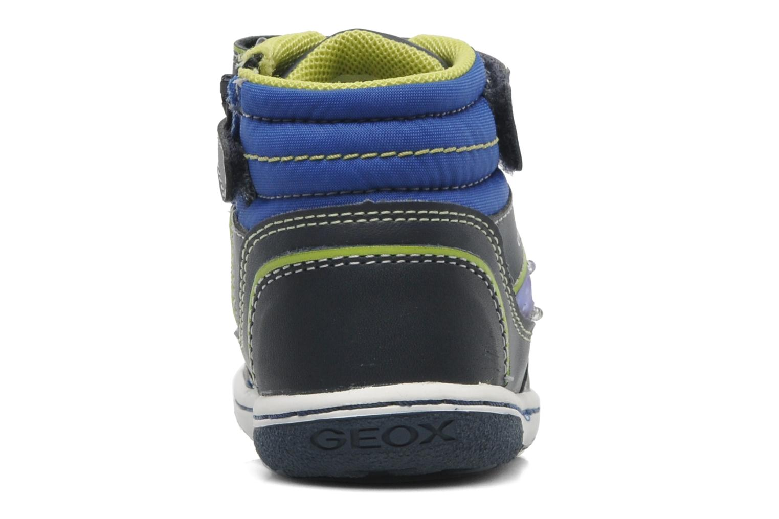 B FLICK BOY J Navy/Lime
