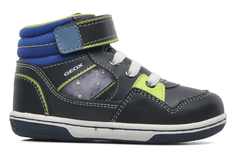 Sneaker Geox B FLICK BOY J blau ansicht von hinten