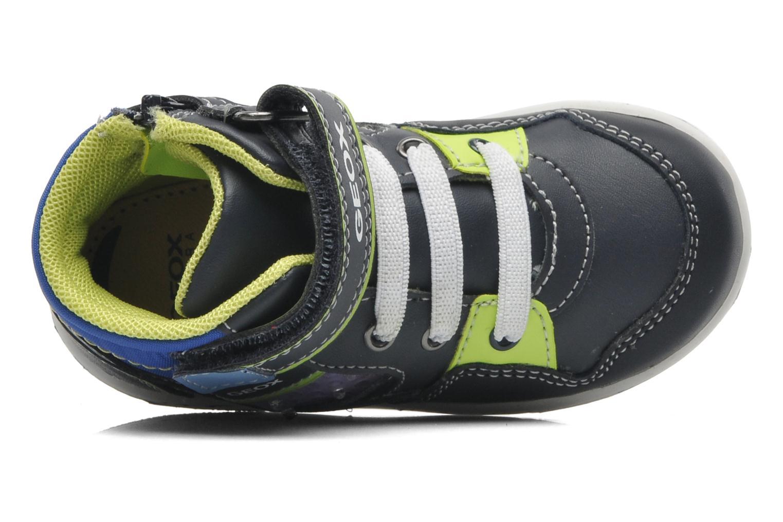 Sneaker Geox B FLICK BOY J blau ansicht von links
