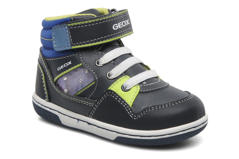 Sneaker Geox B FLICK BOY J blau detaillierte ansicht/modell