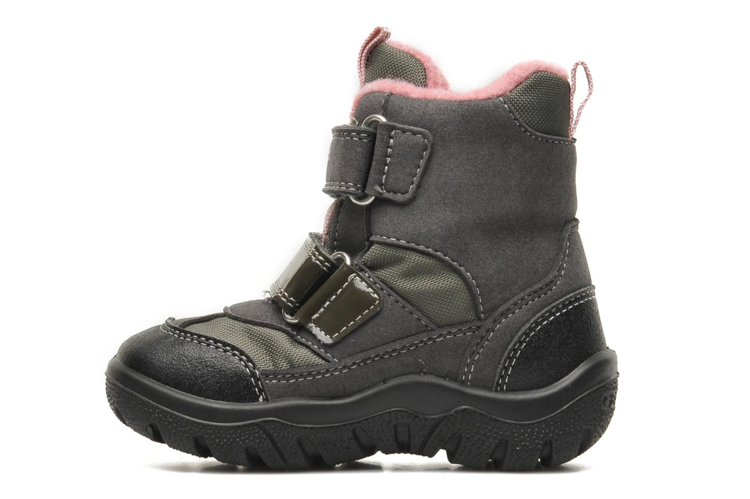 Ankle boots Geox B FROSTY B GIRL ABX Grey front view