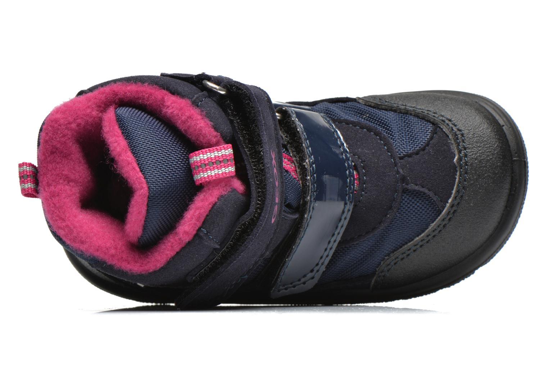 Bottines et boots Geox B FROSTY B GIRL ABX Bleu vue gauche