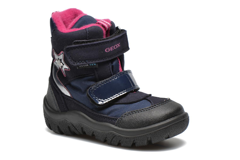 Bottines et boots Geox B FROSTY B GIRL ABX Bleu vue détail/paire