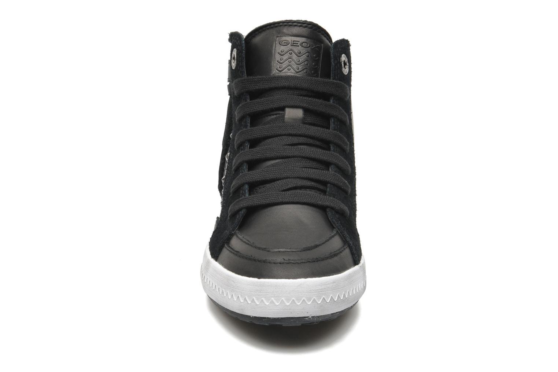 Sneaker Geox JR WITTY B schwarz schuhe getragen