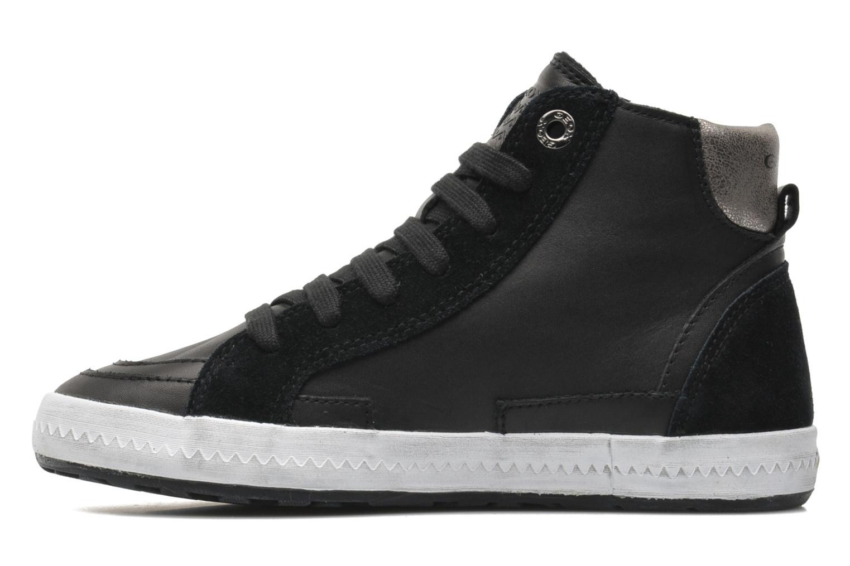 Sneaker Geox JR WITTY B schwarz ansicht von vorne