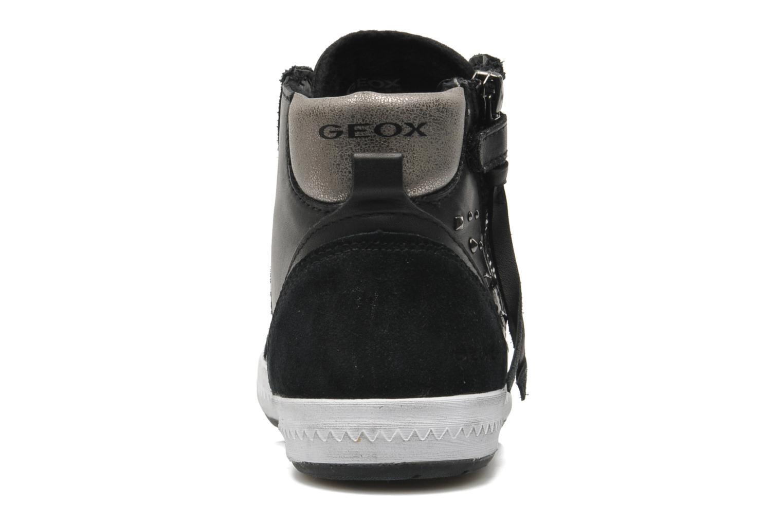 Sneaker Geox JR WITTY B schwarz ansicht von rechts