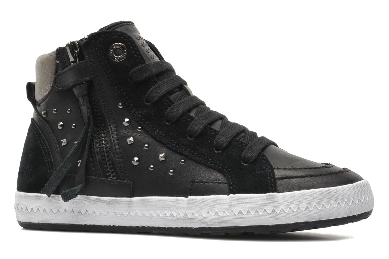 Sneaker Geox JR WITTY B schwarz ansicht von hinten