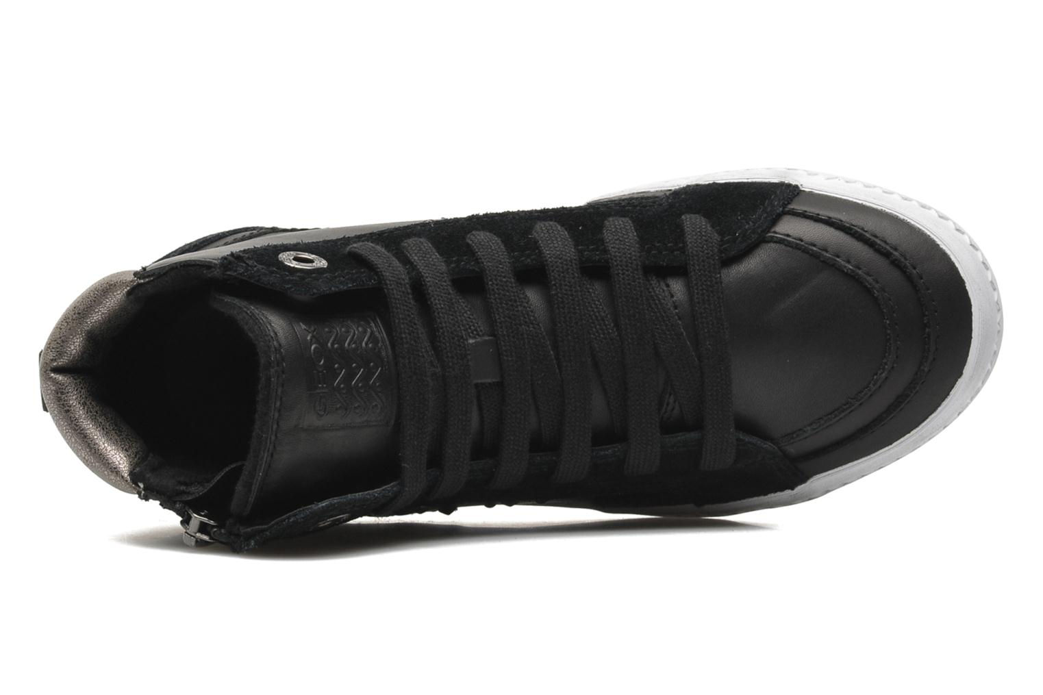 Sneakers Geox JR WITTY B Zwart links