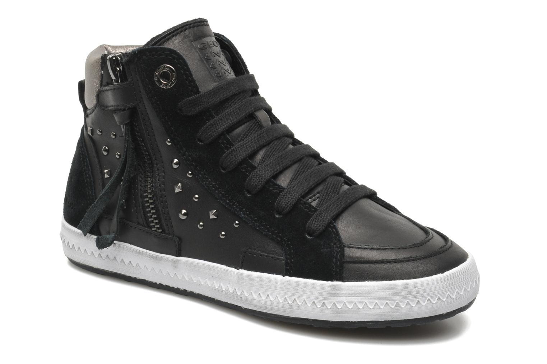 Sneaker Geox JR WITTY B schwarz detaillierte ansicht/modell