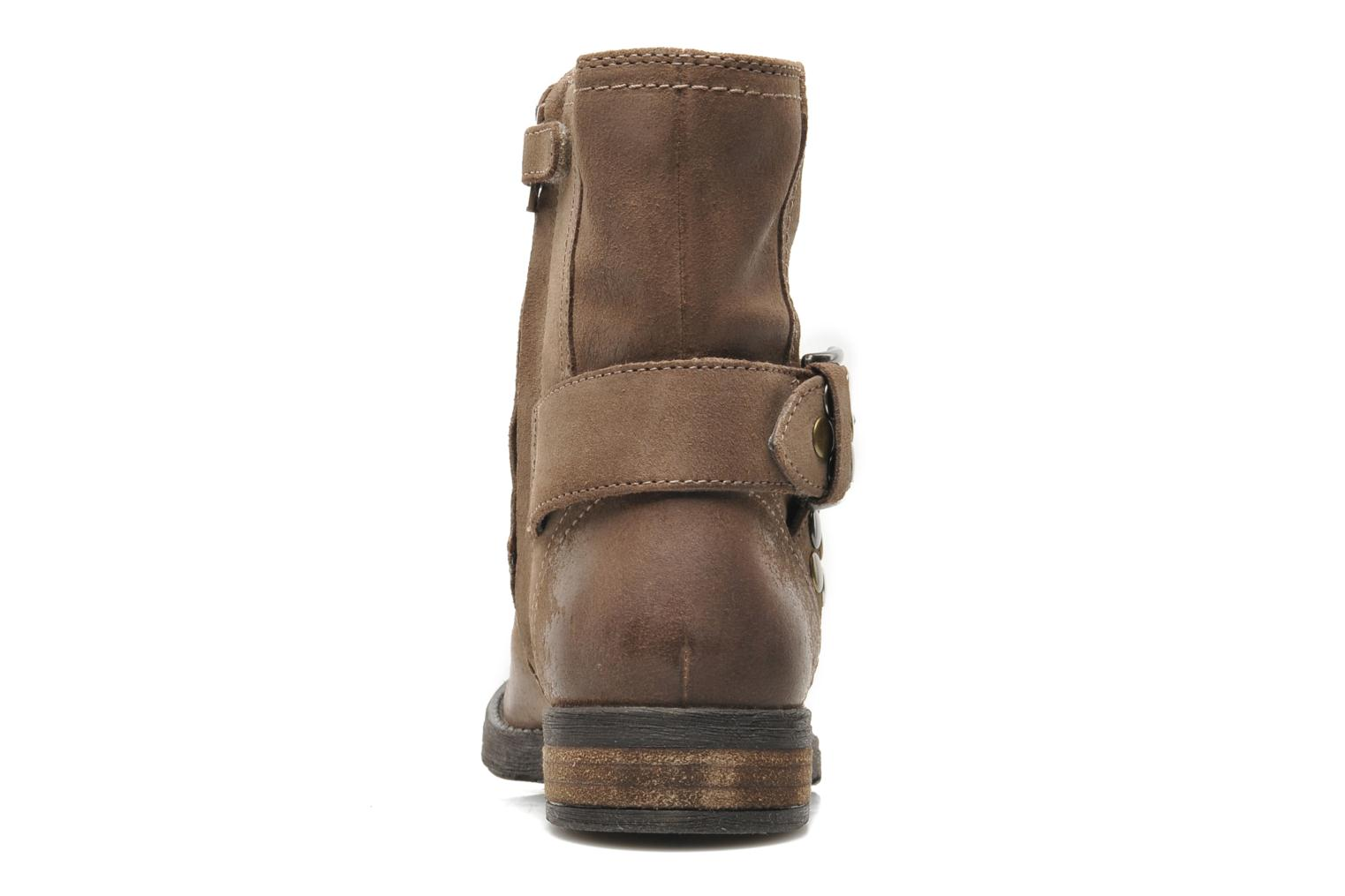 Ankle boots Geox JR SOFIA B Brown view from the right
