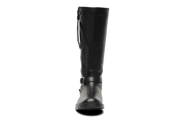 Boots & wellies Geox JR SOFIA D Black model view