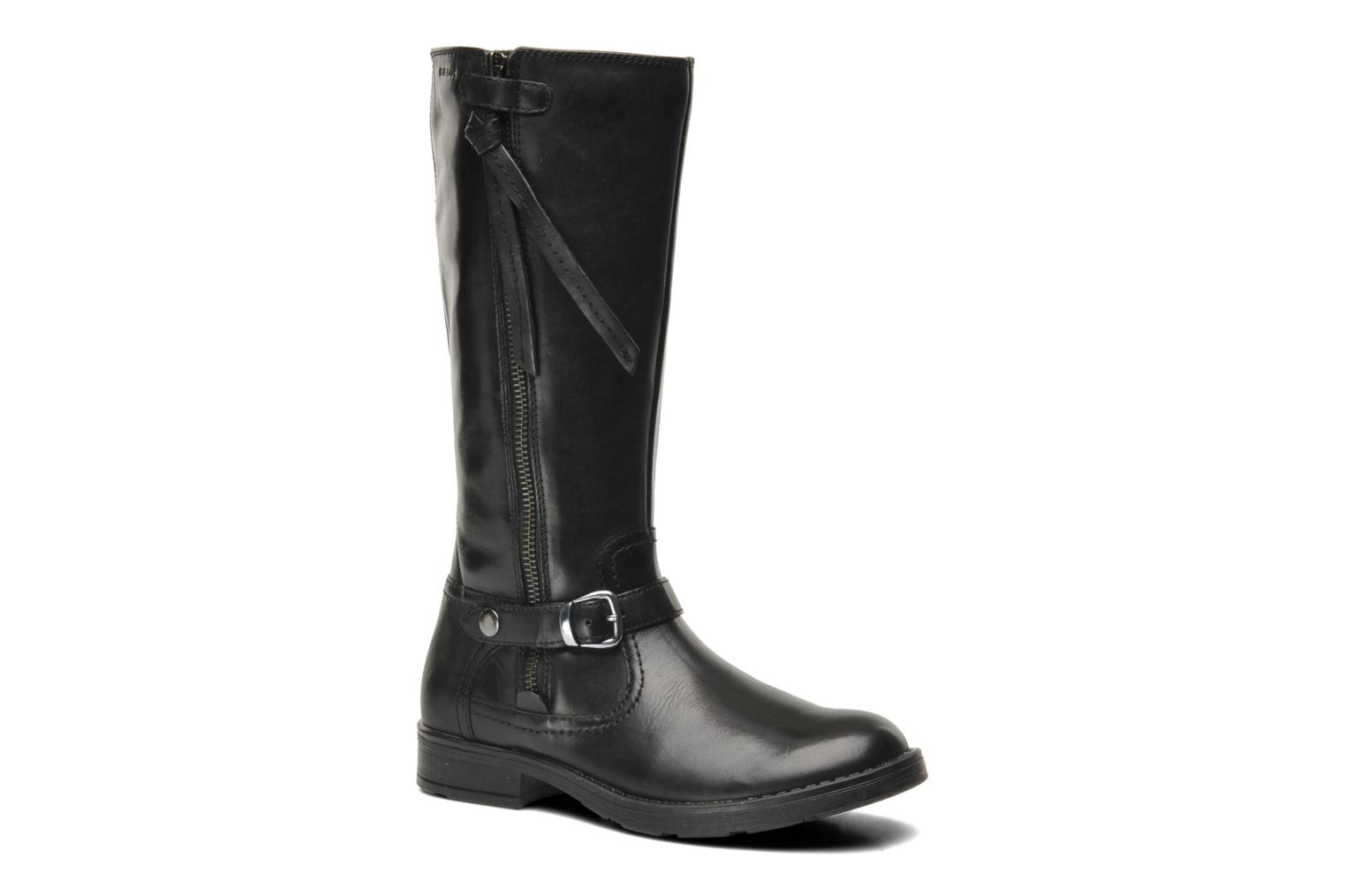 Boots & wellies Geox JR SOFIA D Black detailed view/ Pair view