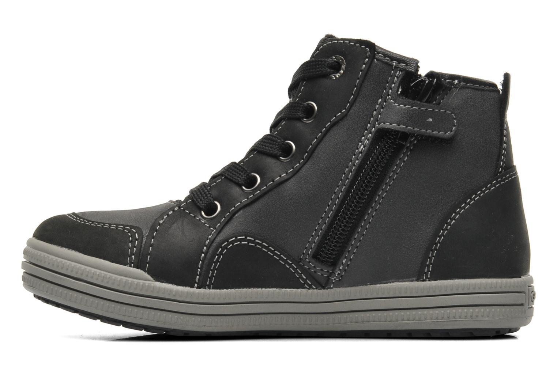 Sneaker Geox J ELVIS WP C schwarz ansicht von vorne
