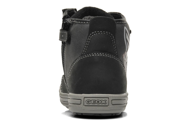 Sneaker Geox J ELVIS WP C schwarz ansicht von rechts