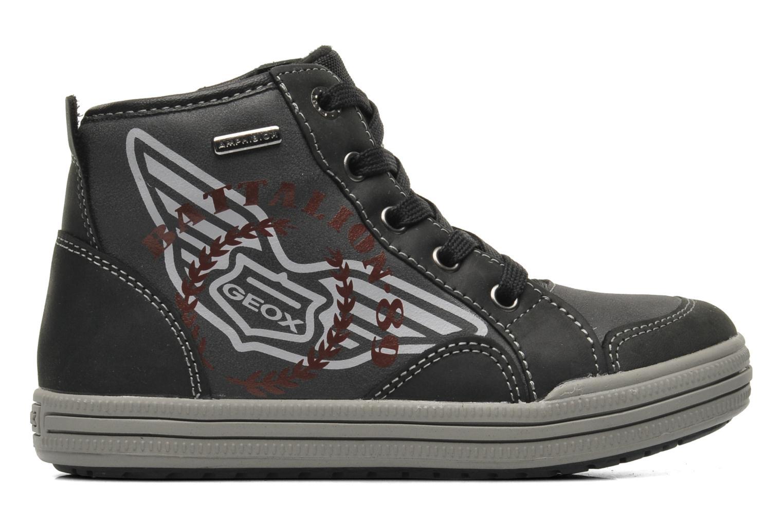 Sneaker Geox J ELVIS WP C schwarz ansicht von hinten