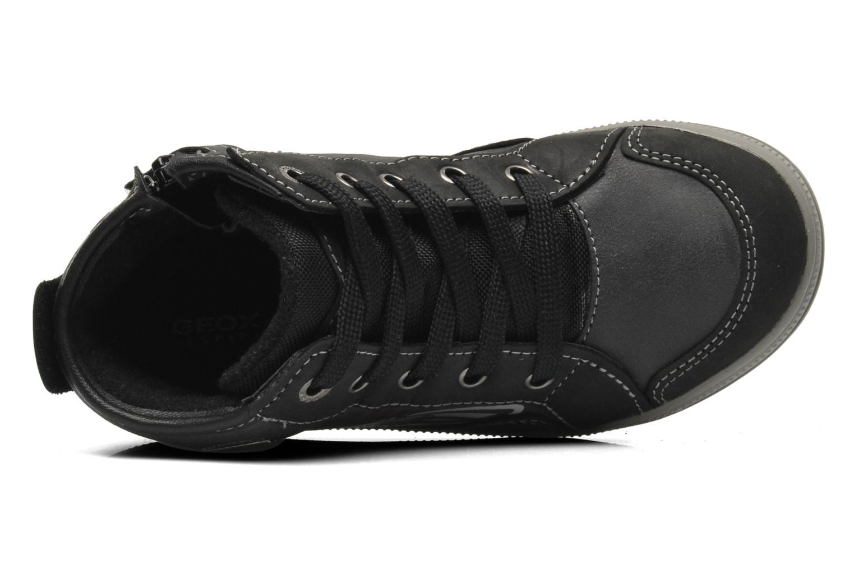 Sneaker Geox J ELVIS WP C schwarz ansicht von links