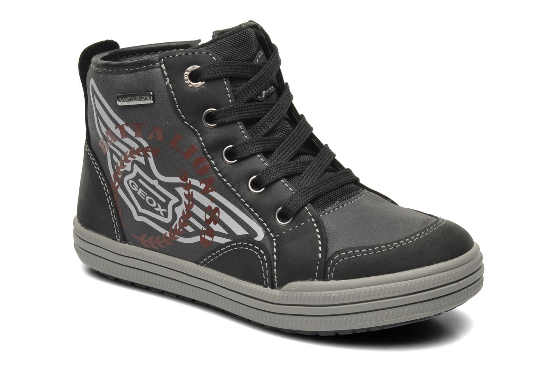 Sneaker Geox J ELVIS WP C schwarz detaillierte ansicht/modell