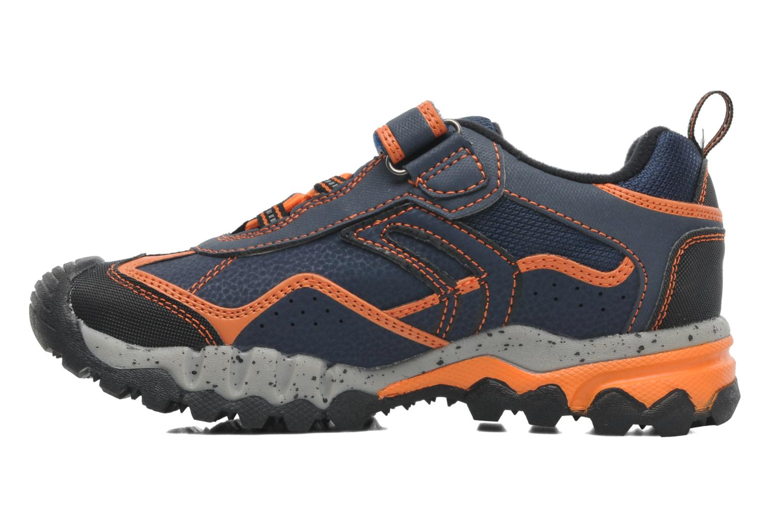 Trainers Geox JR MOUNTAIN B ABX E Blue front view