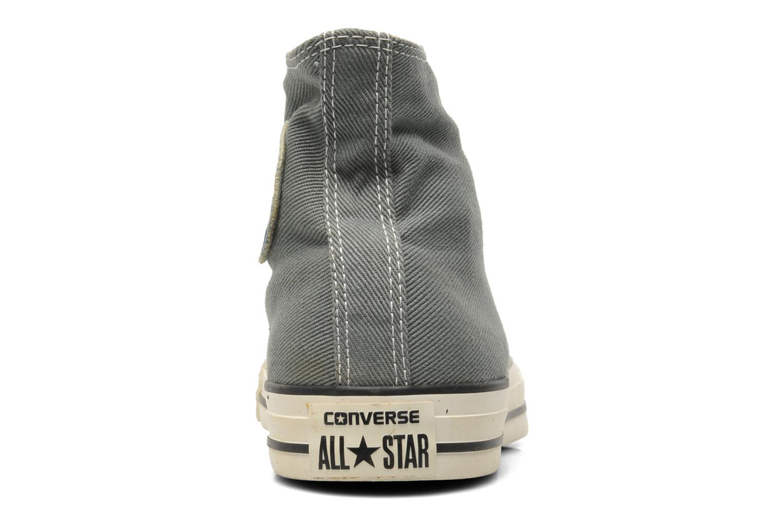 Sneaker Converse Chuck Taylor Vintage Washed Twill Hi M grau ansicht von rechts