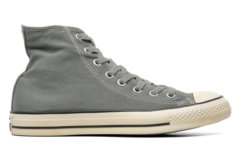 Sneaker Converse Chuck Taylor Vintage Washed Twill Hi M grau ansicht von hinten