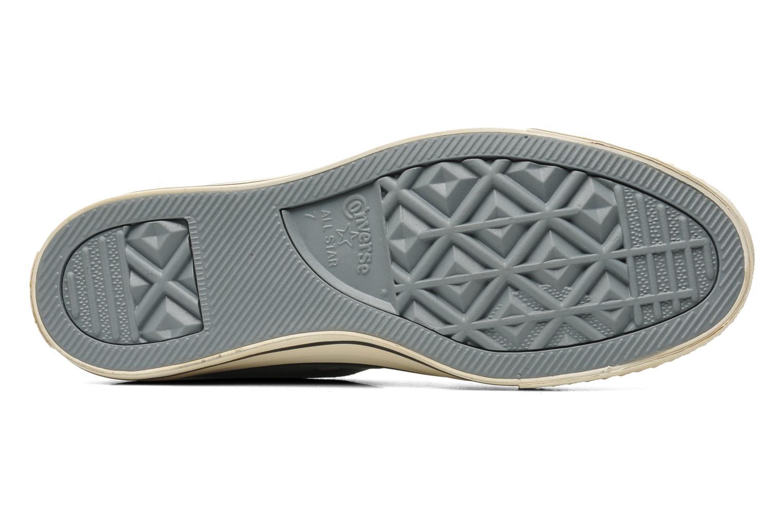 Sneaker Converse Chuck Taylor Vintage Washed Twill Hi M grau ansicht von oben
