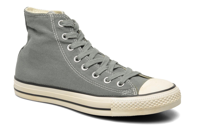 Sneaker Converse Chuck Taylor Vintage Washed Twill Hi M grau detaillierte ansicht/modell