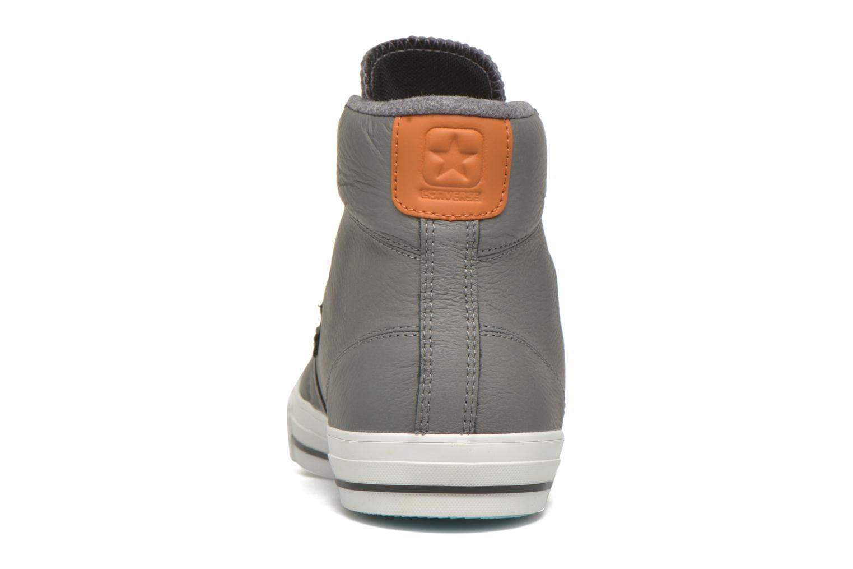 Sneaker Converse Star Player Leather Hi M grau ansicht von rechts