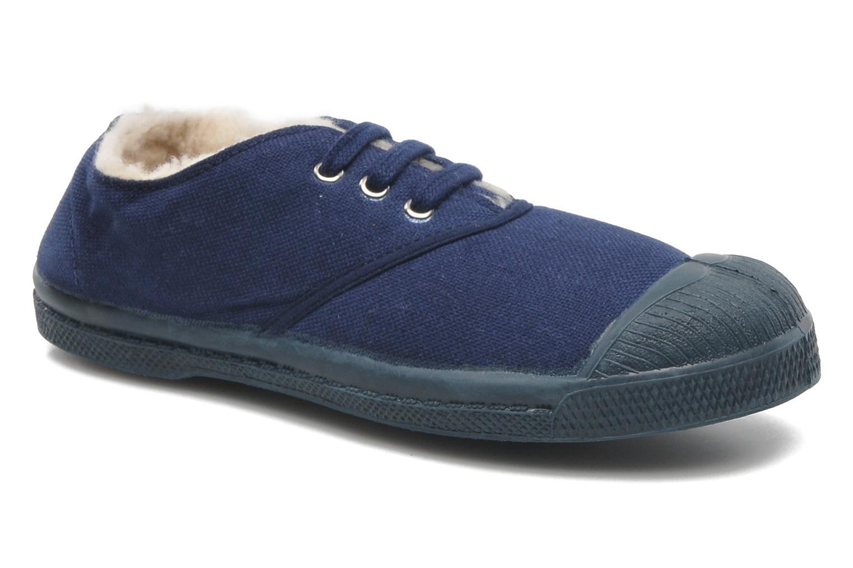 Sneakers Bensimon Tennis Lacets Fourrées E Blå detaljeret billede af skoene